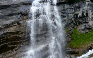 water fall at Grossglockner