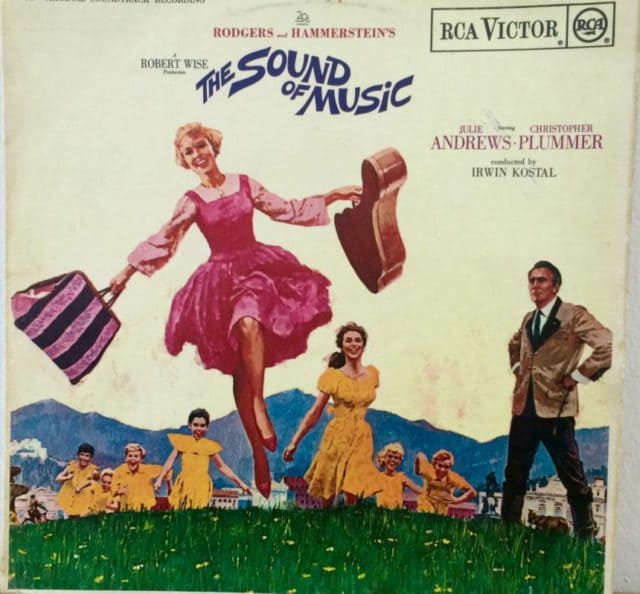 Sound of Music LP disc