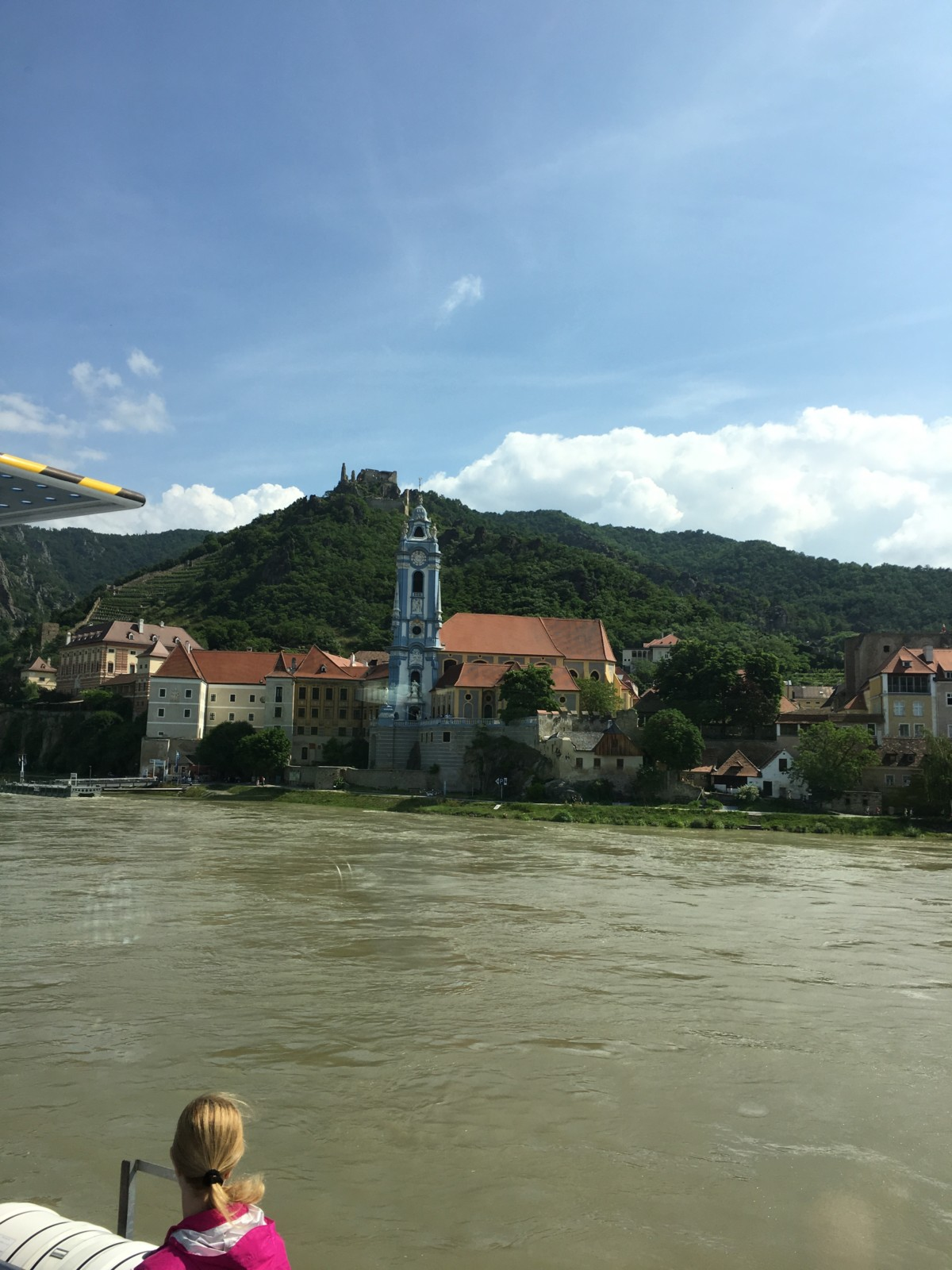 town of Duerrnstein with church