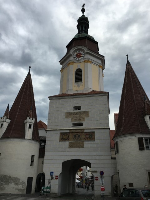 gate into Krems