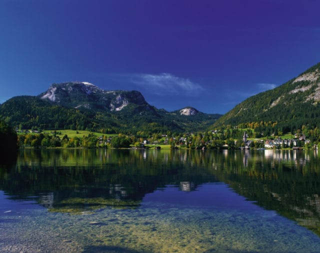 lake district area altaussee