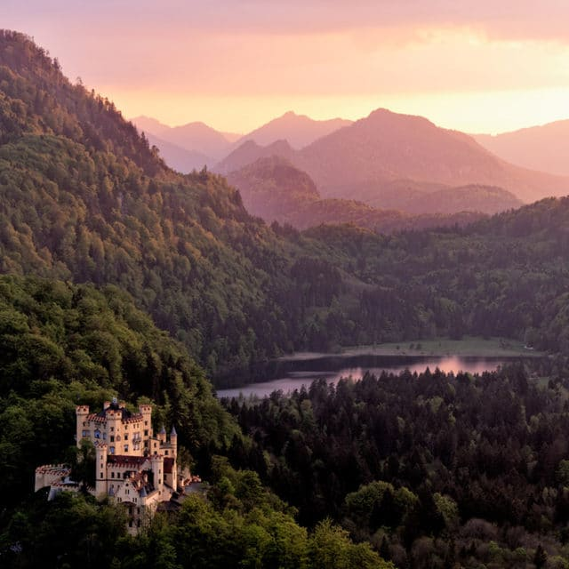 Hohenschwangau Evening