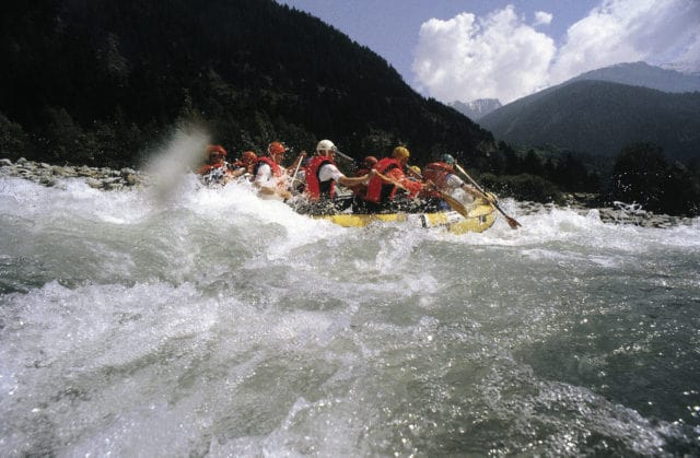 rafting in Austria