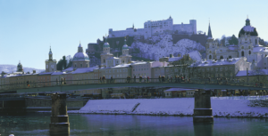 Salzburg at winter