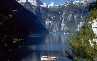 picturesque Koenigssee