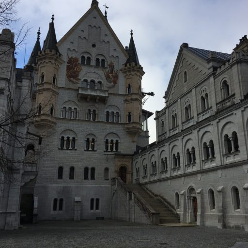 inner castle of Neuschwanstein
