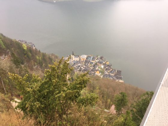 Hallstatt center view