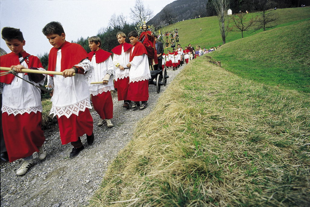 easter procession austria