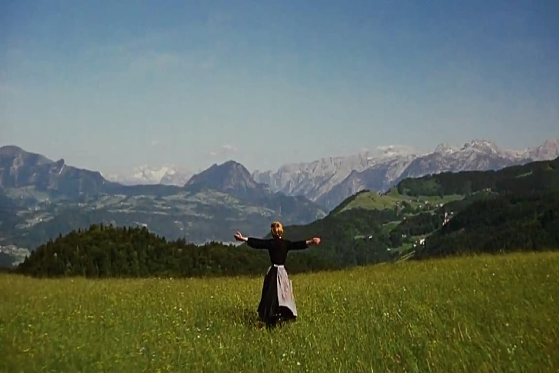 The hills are alive-opening scene
