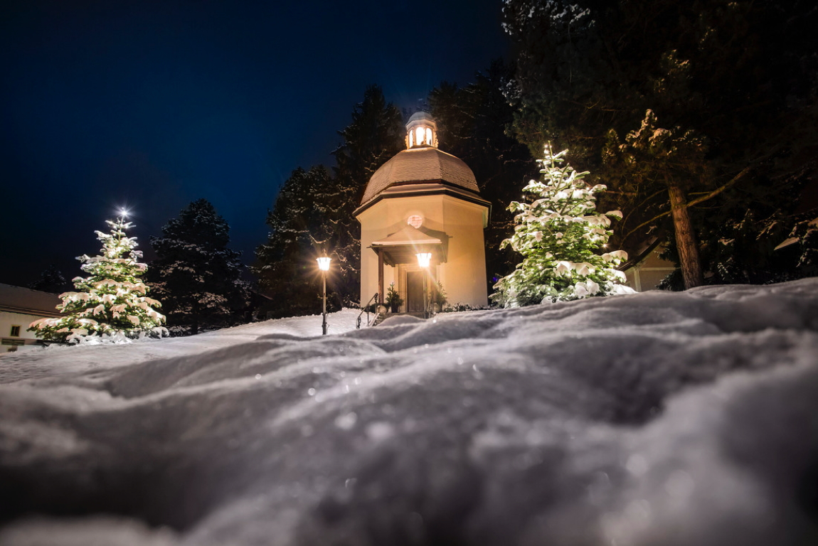 chapel of silent night at Oberndorf